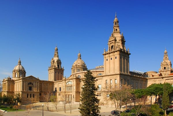National museum in Montjuic