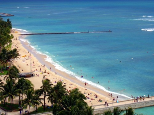 Hawaii Waikiki Beach, Oahu