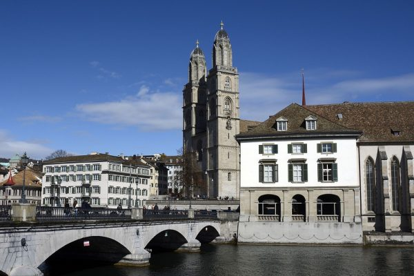 Zurich Grossmunster Tower