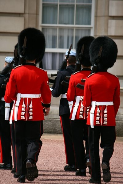 Change of the guard, Buckingham Palace