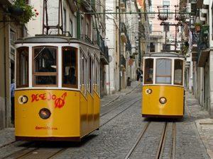 lisbon-trams