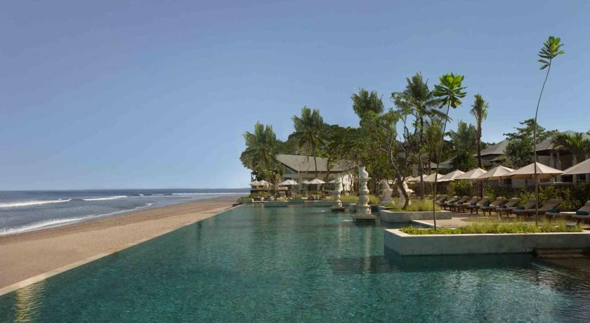 The High End Beach Resort Area Of Seminyak