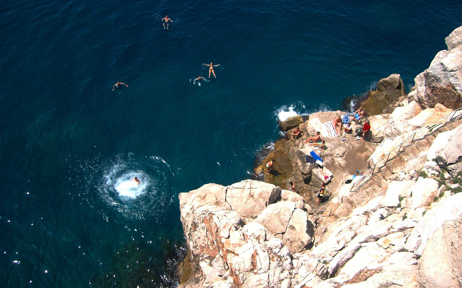 Dubrovnik Jump of Cliffs