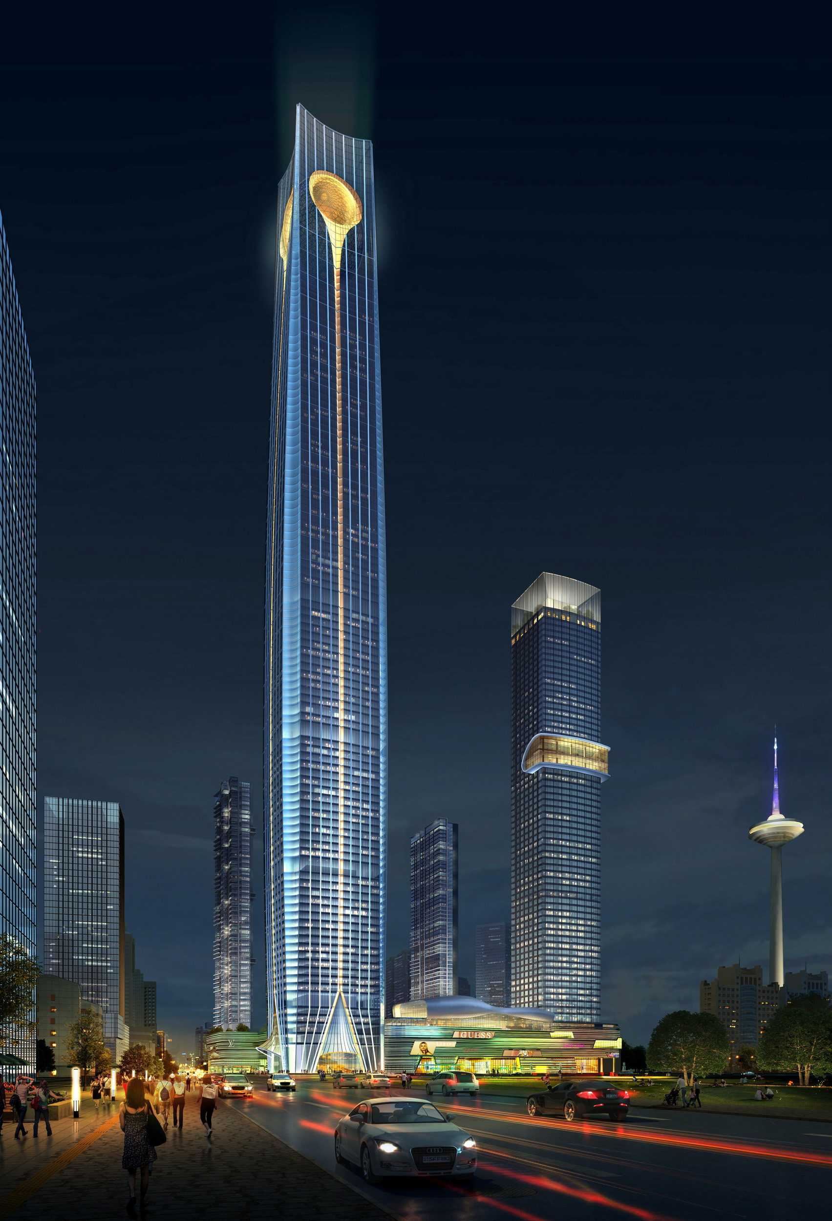 Global Financial Center Tower 1