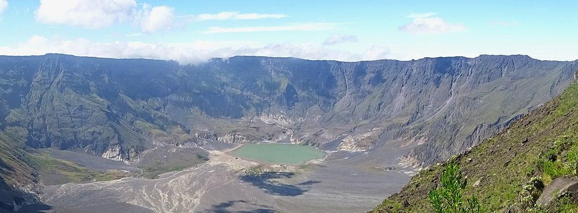 Mount Tambora Volcano, Indonesia