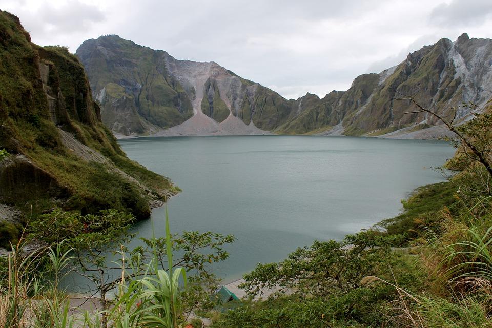 Mt Pinatubo Volcano Philippines