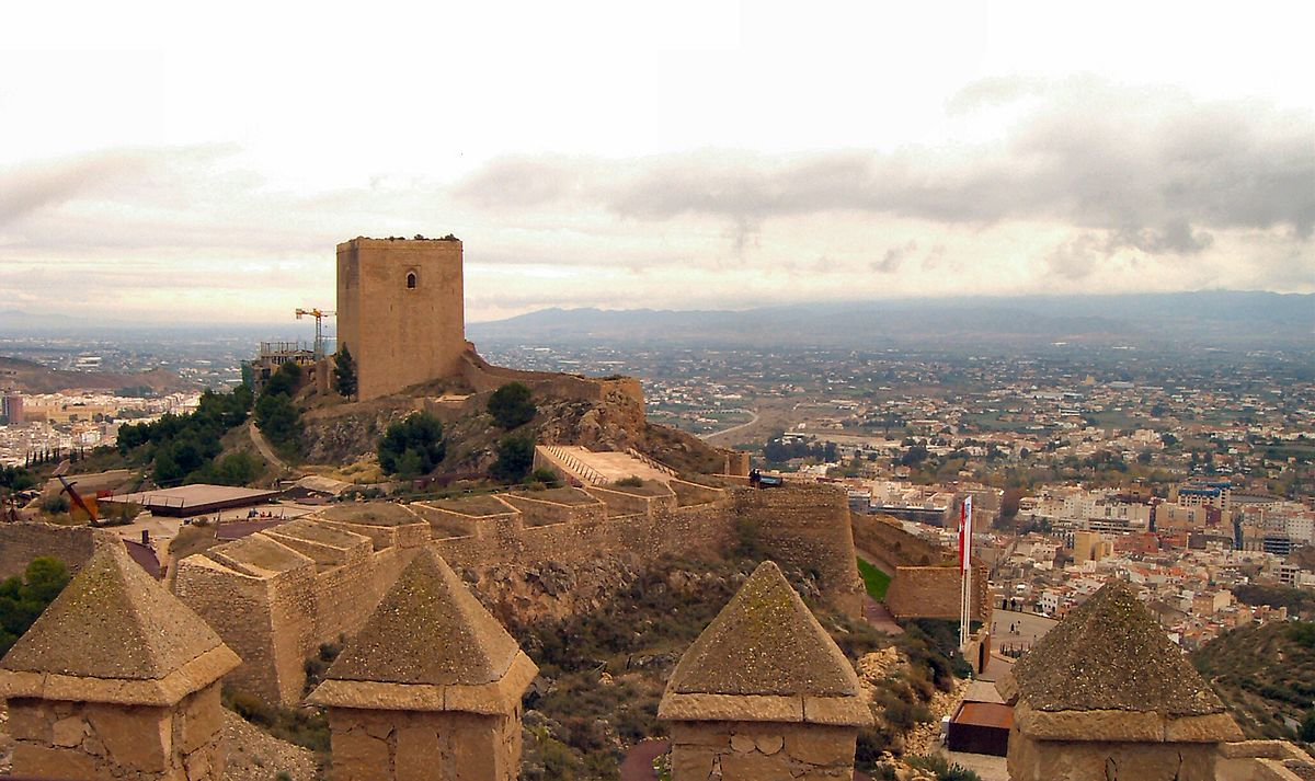 Castillo de Lorca Spain