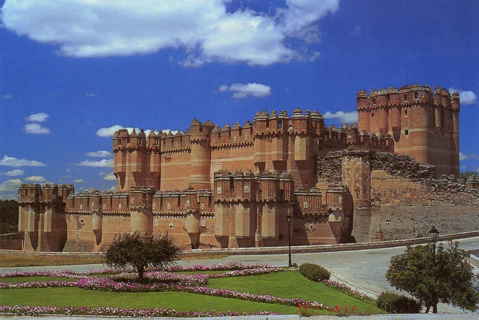 Coca Castle Spain
