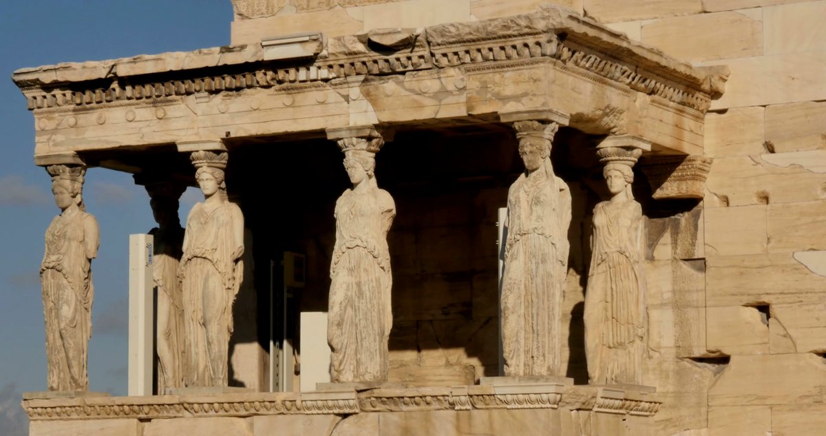 the temple of erechtheion