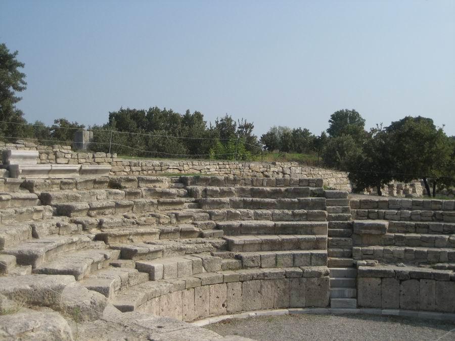 Troy Roman Odeon