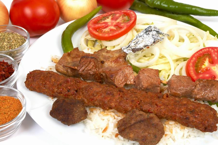 Turkish traditional kebap
