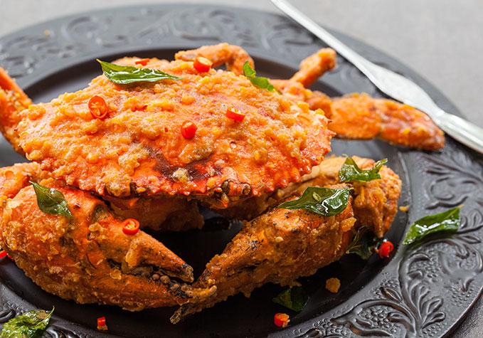 Salted Yolk Egg Crab